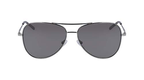 DKNY Womens DK102S Sunglasses, Gunmetal, One Size