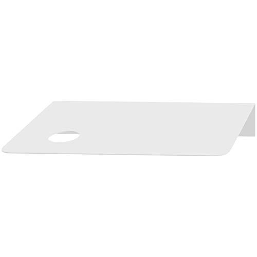 Hoopzi - Etagère en Acier Peint - Transformez votre Suspension Bala en Etagère Design - Compatible Douille E27 avec Bague de Fixation - Blanc