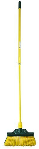 Novaliv Juego de escoba de 30 cm de madera con mango telescópico,...