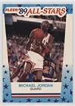 Michael Jordan (Basketball Card) 1989-90 Fleer - All-Stars Stickers #3