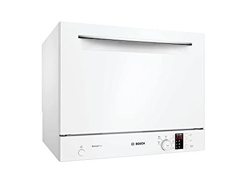 Bosch Serie 4 SKS62E32EU - Lavavajilla compacto, independiente, 6 programas, 55 cm, color blanco