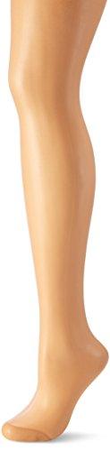 Nur Die Damen Seidenfein Glanz Fein Strumpfhose,  15 DEN,  Braun (Amber 230),  X-Large (HerstellerGröße: 48-52