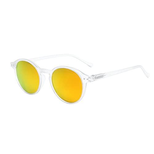 ZENOTTIC Gafas de sol Polarizadas Redondo Retrospectivo Clásico Retrospectivo Lentes de sol...
