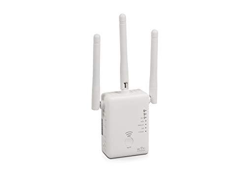 Maginon WLR-753 AC - Dual-Band WLAN-Verstärker - Dual-Band WLAN-Verstärker, 733 Mbit/s, nach neustem AC-Standard, mit 3 Antennen zur optimalen Datenübertragung