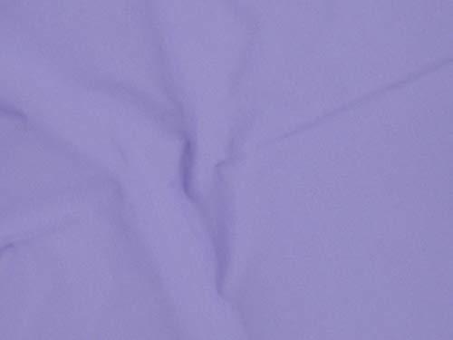 Dalston Mill Fabrics, tessuto in policotone, lilla, 3 m, cotone