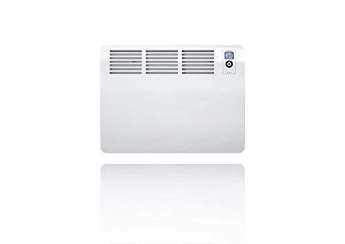 STIEBEL ELTRON Wandkonvektor, Elektroheizung CON 20 Premium U, 2000W für ca. 20qm, 7-Tage+120-Minuten-Timer, Frost+Überhitzungsschutz, offene Fenstererkennung, LOT 20 konform, Alu