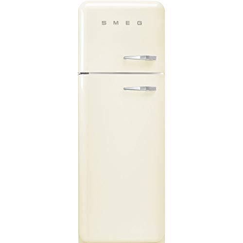 Smeg FAB30LCR3 nevera y congelador Independiente Crema de color 294 L A+++ - Frigorífico (294 L, SN-T, 4 kg/24h, A+++, Compartimiento de zona fresca, Crema de color)
