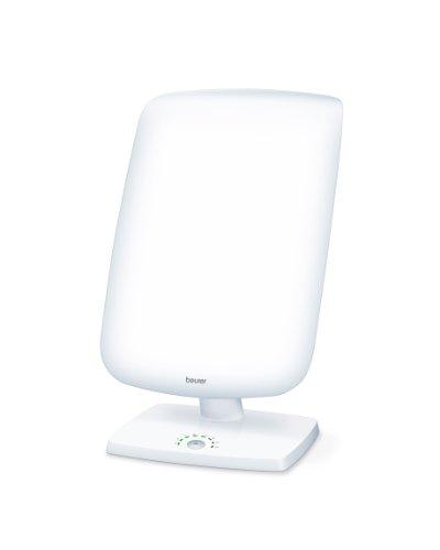 Beurer TL 90 Lampe de luminothérapie | 10 000 lux | Simulation de la lumière du jour | Réglage d'inclinaison en continu | Affichage de la durée de traitement