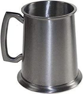 antique pewter beer mugs