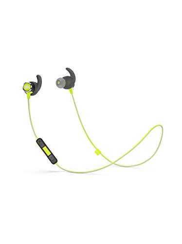 JBL Reflect Mini 2 Bluetooth Kopfhörer in Grün – Sport Headphones wasserabweisend – Wireless In Ear Kopfhörer kabellos – Bis zu 10 Stunden Akkulaufzeit