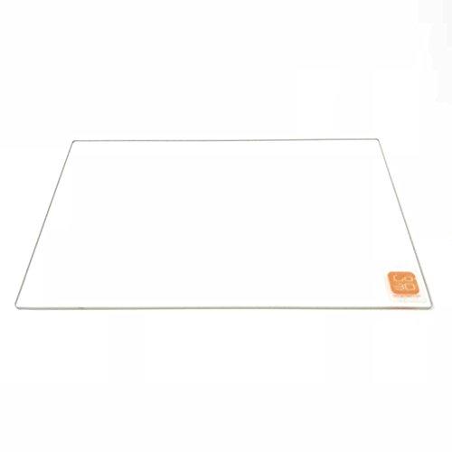 235mm x 305mm Plaque de verre borosilicate pour Creality 3d CR-10Mini DIY imprimante