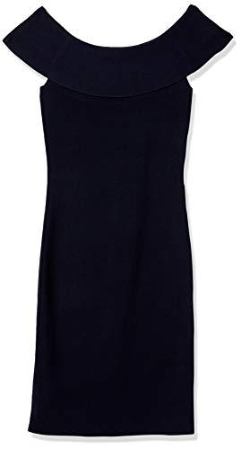 Elie Tahari Women's Ruthie Sweater Dress, Navy, L