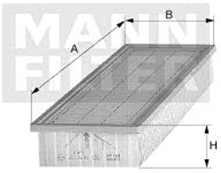 MANN C2041 - Filtro de Ar do Motor - Mann Filter