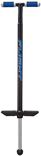NSG Flight Premium Perfomance Pogo Stick - Ages 9 and Up - 80-180 Pounds, Black