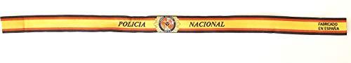 Gemelolandia | Juego de 10 Pulseras de Tela Bordada Cuerpo Nacional de Policia | Regalo Original | Ideal Para Bodas, Aniversarios, Fiestas, Despedidas de Solteros