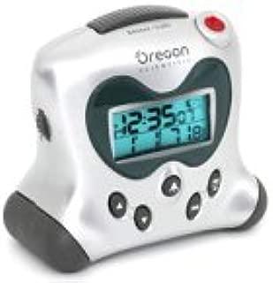 Oregon Scientific RM313PNA Self-Setting Projection Clock, Silver