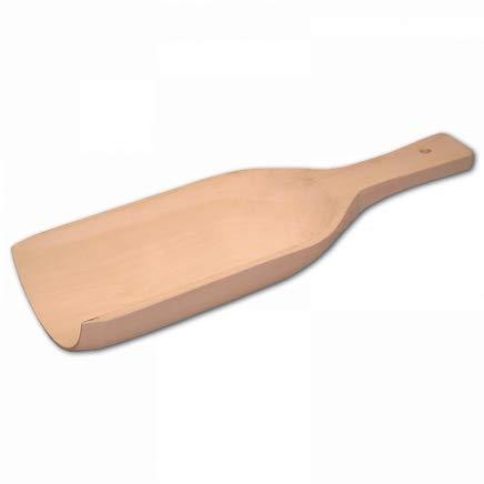 HOFMEISTER® Mehl-Schaufel aus Buchen-Holz, 16 x 7 cm, Schaufel für Gewürze, Kaffee, Getreide, sicheres Dosieren, Abwiegen & Befüllen, Mess-Löffel aus Buchenholz, 100% Made in EU