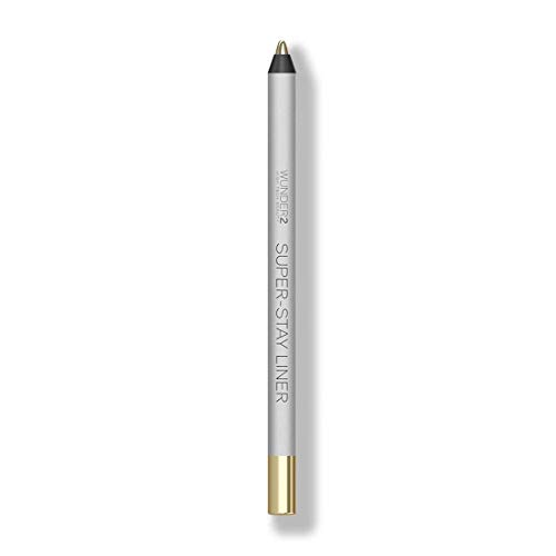 WUNDER2 SUPER-STAY LINER Long-Lasting & Waterproof Colored Eyeliner, Metallic White Gold, 1.2 grams
