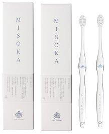 MISOKA(ミソカ) 歯ブラシ 藍色 2本セット