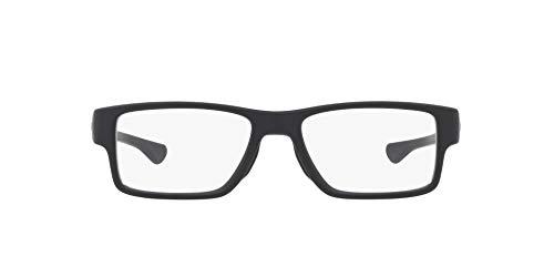 Oakley 8121, Monturas de Gafas para Hombre, Negro (Satin Black), 55