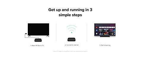 Xiaomi Mi Box S (EU Version) 4K Ultra HD Media Player mit Google Assistent Fernbedienung, Bluetooth,HDMI) 4K HDR, Dolby Audio, DTS HD,Android 8.1 Schwarz