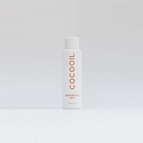 COCOOIL Tanning Oil SPF6 3.4 Fl Oz