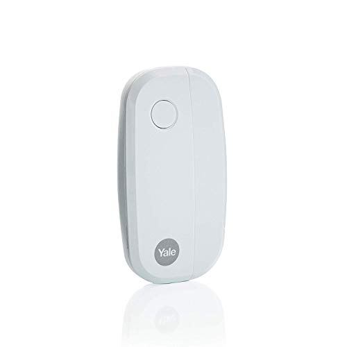 Yale AC-DC Sync Smart Home Alarm Accessory Door/Window Sensor, White, App Control, DIY Friendly, for Securing Main Access Points
