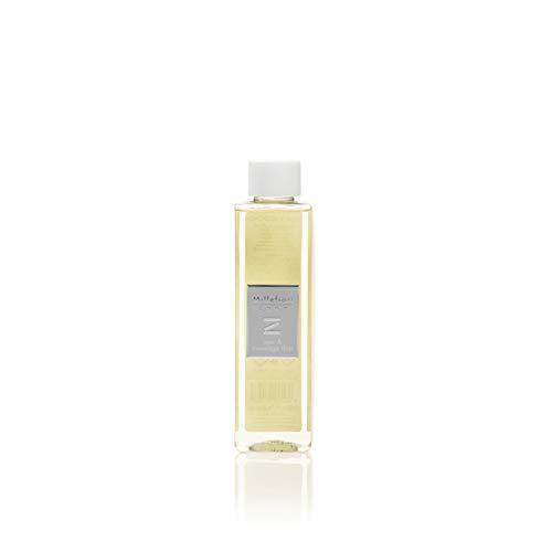 Millefiori 41REMSM Spa und Massage Thai Nachfüllflasche 250 ml für Raumduft Diffusor Zona, Plastik, Gelb, 3.9 x 0.4 x 16.5 cm