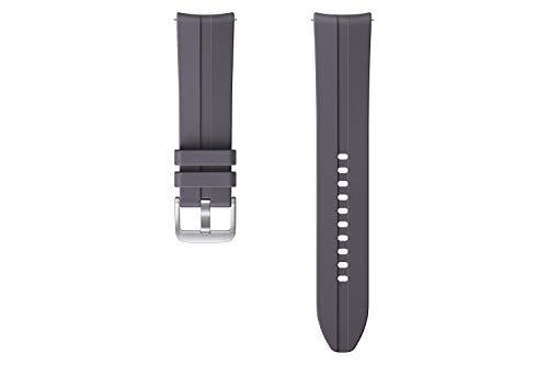 SAMSUNG Ridge Sport ET-SFR84 - Correa de Reloj Galaxy Watch3 con 22 mm de Ancho, Brazalete Deportivo de fluoroelastómero Gris