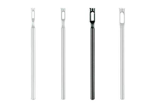 Hühneraugen Entferner Gezackt für die Fußpflege Hohlfräser mit einem Kopfdurchmesser von 1,8mm, 2,3mm, 2,8mm oder 3mm professioneller Hohlfräser Aufsatz von Stius (2.8 mm)
