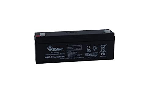 Diamec Batería Plomo AGM 12v 2.2Ah F1