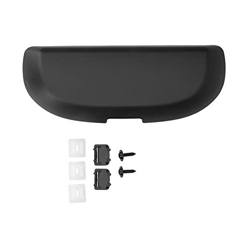 Caja de almacenamiento para gafas de coche, soporte para gafas de sol, apto para Mercedes-Benz A B C E M GLK Class ABS + esponja(Negro)