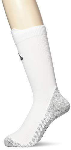 adidas Unisex Erwachsene Alphaskin Traxion Crew Ultralight Socken, weiß (White/Black), 40-42 EU (M)