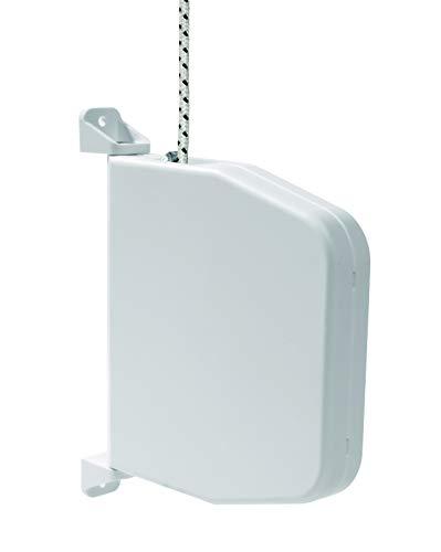 !! NEU!! Selve Mini-Schnurwickler Aufputz schwenkbar mit 5m Schnur 4,5mm Stärke, kostenfreier Versand (inkl. Rolladenschnur, weiß)