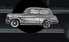 Coche clásico británico Herald 948 Est. ref251 diseño de efecto peltre ambientador de ventilación kit decoración coche furgoneta camión mini autobús