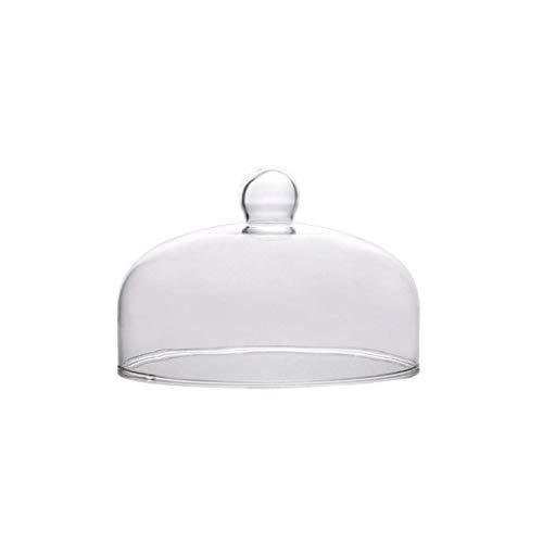 Soporte de pastel, Pudín Dome, hogar sándwich de hamburguesa Sushi tapa de protección de cristal cubierta de polvo de múltiples funciones de Alimentos Cúpula Chip & Dip servidor de la torta de Stands