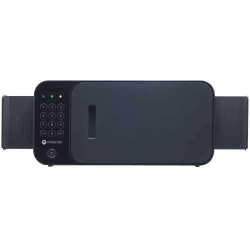 Motorola Flex Smart Safe - Lock Box Designed for Walls/Cabinets/Shelves - Protect Personal Goods, Phones, Jewels, and More