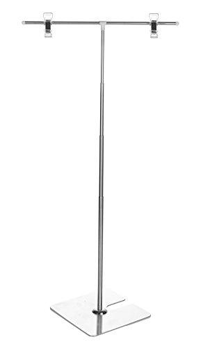 【INSIGHT WORKS】 POPスタンド(フロアスタンド) 長さの調節が便利なスライド式/持ち運びに便利な分解可能タイプ(ドライバー不要) (本体のみ)