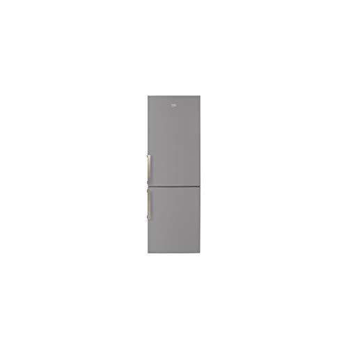 BEKO RCSA365K21S - Frigorifero combinato, 346 L (233 L + 113L)-freddo mescolato / freddo statico-A+-L59,5 x H185,3 cm, colore: Argento