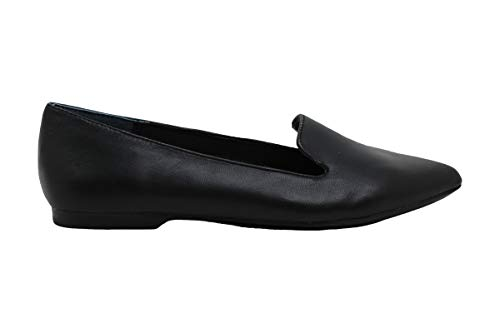 Alfani Womens Poee Leather Closed Toe Loafers, Black Leather, Size 5.0
