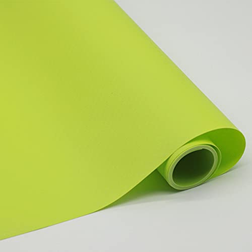 LEISHENT Shelf Liner Non-Sticky Waterproof Elegant and Practical Easy to Cut Decorative Frame Liner for Food Storage Rack,Light Green,0.45x15m