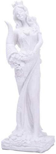 JJDSN Estatuilla y Estatua de Diosa Escultura de Corona de la Suerte Feng Shui Decoraciones para el hogar