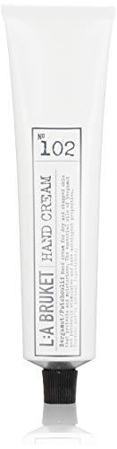 L : a Bruket No. 102 Crème pour les mains Bergamot et patchouli 70 ml