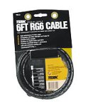 Terk Indoor/Outdoor RG6 Burial Grade Coaxial Cable - 6ft (Discontinued by Manufacturer)
