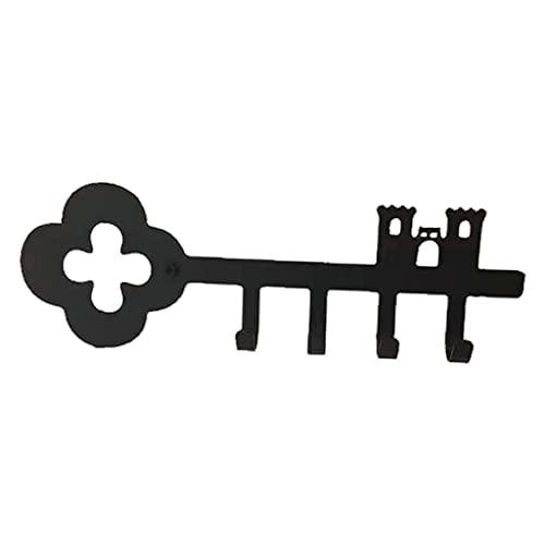 Percha de La Correa Gancho para Llaves Abrigo Toallero Estante de Metal Puerta