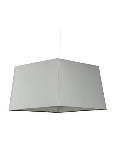 Graue Pyramidenlampe