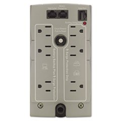 * Back-UPS CS Battery Backup System Six-Outlet 350 Volt-Amps
