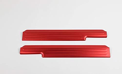 Aluminium legering bildörr tröskel dekorativt skydd, till Suzuki Jimny 2019-2020