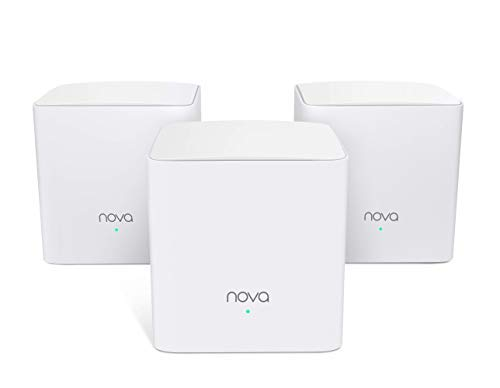 Tenda MW5S Sistemas WiFi Mesh AC1200 Router Dual Banda para 100-300㎡ Casas Pack3