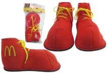 Rubie's Boys' Ronald McDonald Child Shoes Costume Accessory
